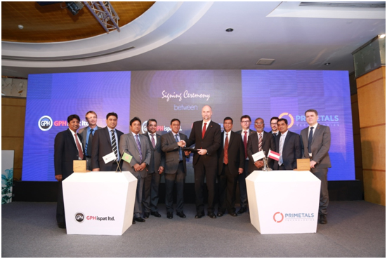 Agreement Signing Ceremony For The Large Scale Expansion